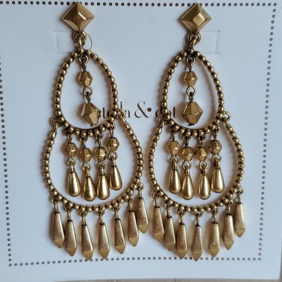 Stella & Dot Reverie Chandelier Earrings